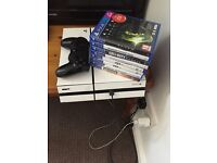 PS4 pad and 9 games all leads plus HDMI can deliver? May swap for bike