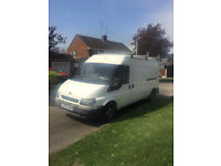 Ford Transit T350 LWB Semi High Top 2005 ready for work