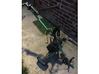 Hill billy 1 electric golf trolley