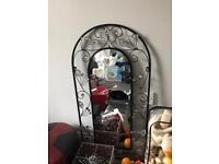 Black gem mirror