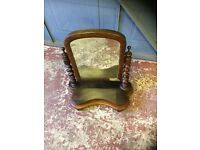Victorian Mahogany Dressing Table Mirror