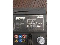 Halford Hb063 car battery