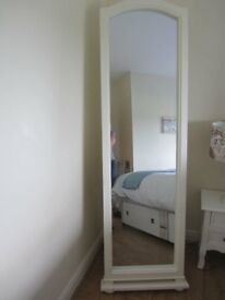 Floor standing mirror- ex condition £50.00