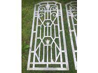 Aluminium gates/ doors/fence