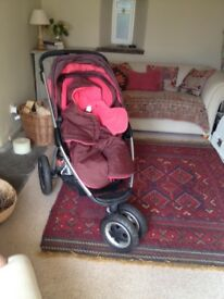 Maxi-Cosi Pushchair and Prambody. Very good condition.