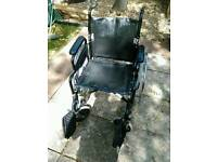 Leather Seat Wheelchair