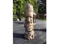 Garden tree man statue ornament