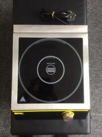 Buffalo induction hob. Cooker. Catering equipment