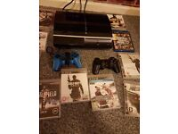 Sony PlayStation 3 with games 2x controlers