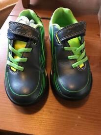Clarks kids football boots 10f