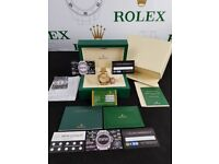 New boxed with papers gold bracelet gold dial Rolex Day date watch Automatic sweeping movement