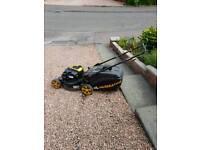 McCollach petrol lawn mower