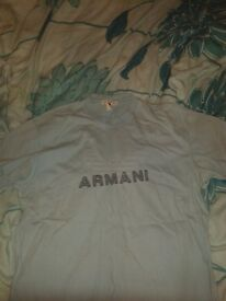 Armani Blue t-shirt / top