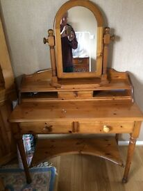Ducal Victoria pine dressing table