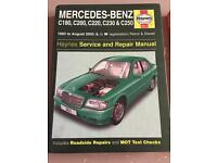 Mercedes w202 maintenance manual x2