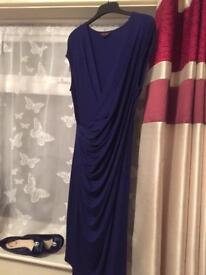 Phase 8 royal blue dress size 14