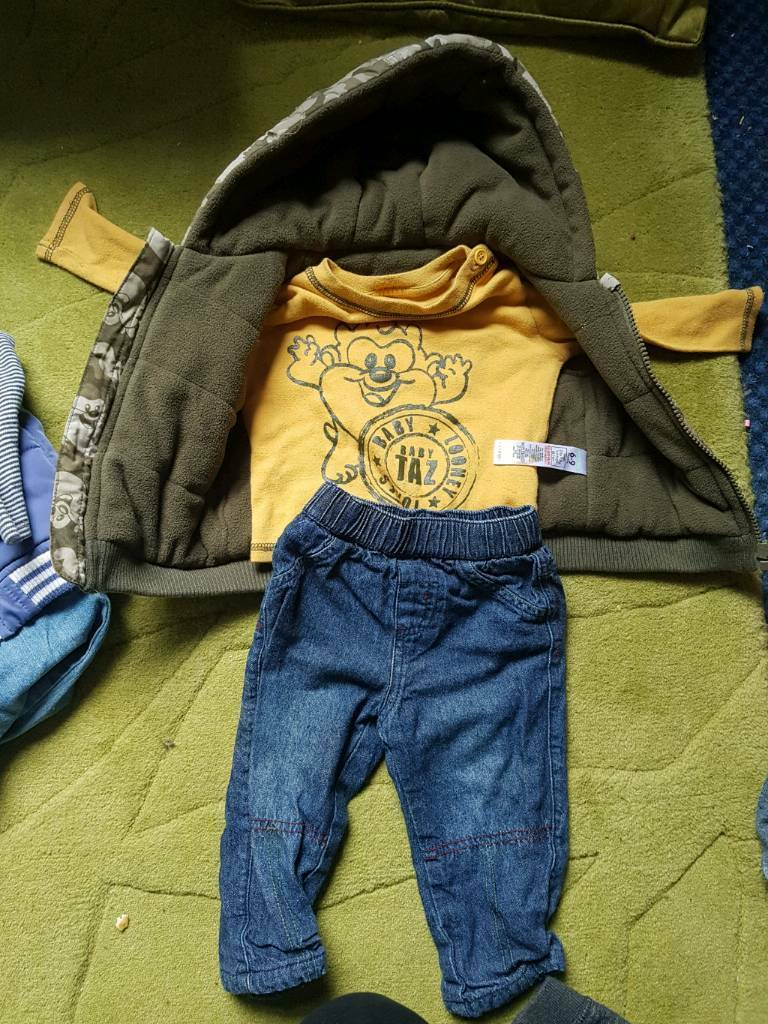 bfbafab0018d Boys clothes bundle aged 6-9 months 9-12 months and other pieces ...