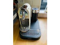 Coffee machine - nespresso with milk frother