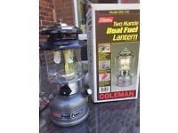 Coleman 2 mantle duel fuel lantern
