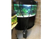 Fluval 205 ex filter for fish tank All work and clean with pipe u can look pic
