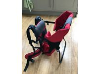 Vaude Jolly Baby Carrier - Black/ Red