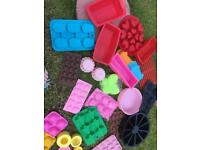Soap and bath bomb kit fragrance oils moulds etc