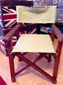 Children's Director Chair x 2