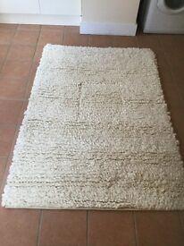 Pure Wool Rug Cream