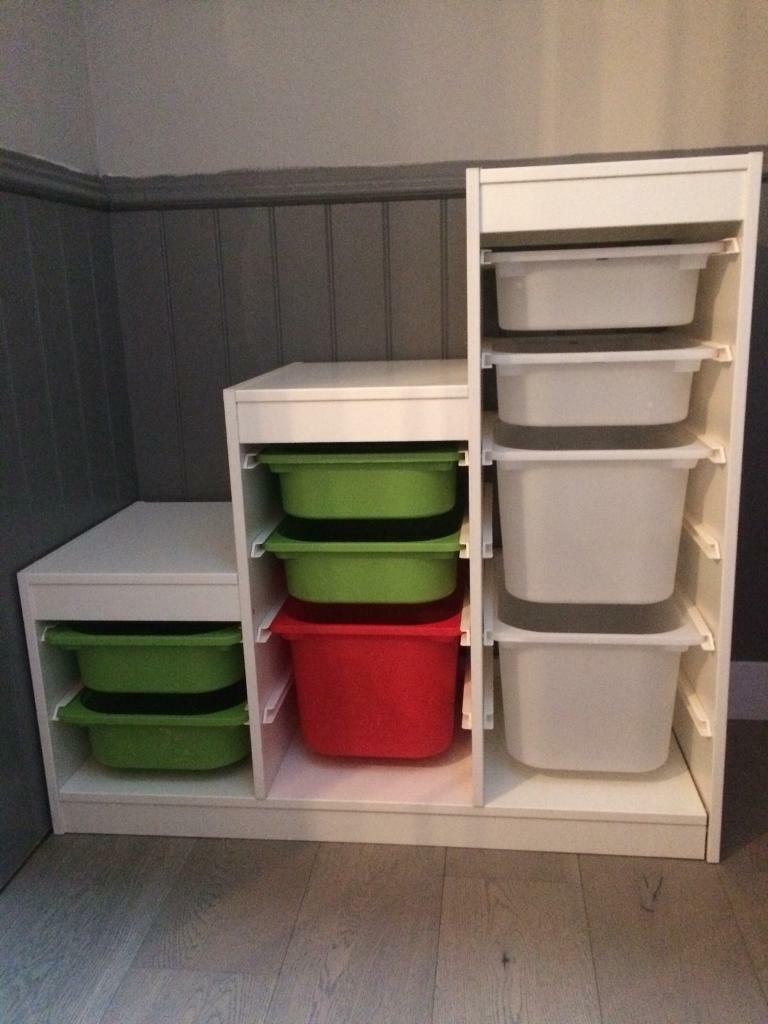 Ikea TROFAST Boxes to fit TROFAST Units Various colours /& sizes Toys Books stora