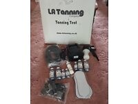 L.A. Tanning System including tent. Never used