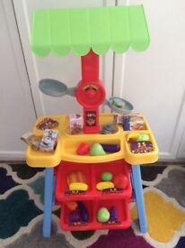 Children's Toy Fruit & Veg Market Store