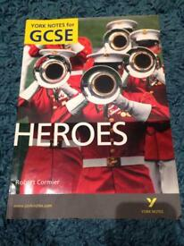Heroes GCSE study guide