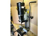 Rexon mortice machine and pedestal drill