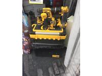 Dewalt 3 drill set with torch and carry cases