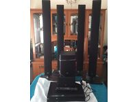 LG DVD Player and surround sound system