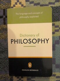 Dictionary Of Philosophy - The Lauguage And Concepts Of Philosophy Explained.