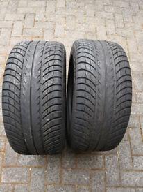 Tyres 245/45ZR16 Kit Car