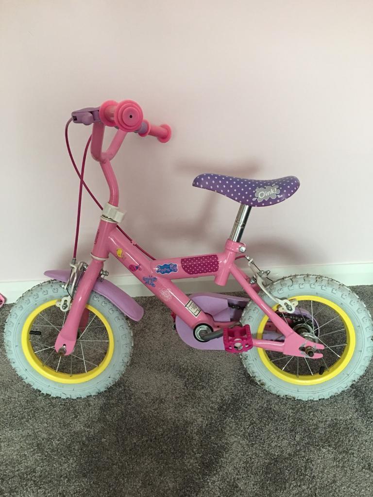 Peppa Pig Bike With Stabilisers Perfect Gift In Wakefield