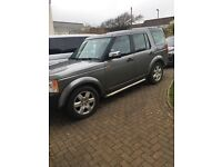 Land Rover Discovery 3. TDV6. 7 seater 1997 reg