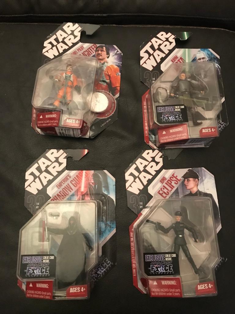 Stars wars figures
