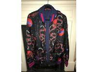 Men's Gucci space snake print jacket