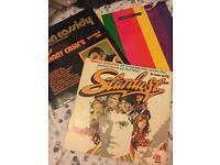 Vinyl records. Stardust, john Cassidy and pet shop boys
