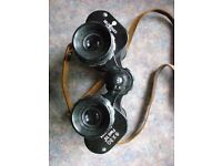 VERY GOOD CONDITION SELFRIDGES (LONDON) FULLY COATED 8 X 30 BINOCULARS
