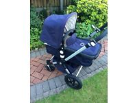 Bugaboo Cameleon 3 Limited Edition Classic+ Pushchair, Navy Excellent condition