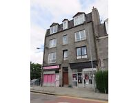 For Lease, Furnished, Spacious, Two Bed, Top Floor flat, Elmbank Terrace, Aberdeen.