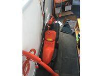 Electric Flymo Lawnmower and Strimmer (like new used 6 times) moving sale