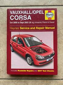 Haynes Vauxhall Opel Corsa Manual