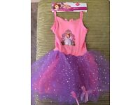 Brand new Sofia the first tutu age 5-6years