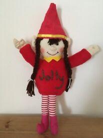Elf on the shelf JOLLY handmade washable