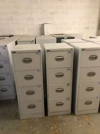 4 Drawer Metal Filing Cabinets **10 Available**